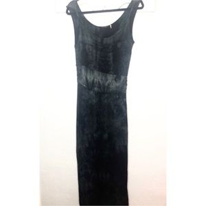 Tahari tie dye maxi dress small